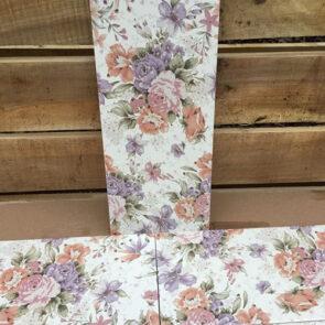Medoc Flowers плитка в ванную с цветами фото