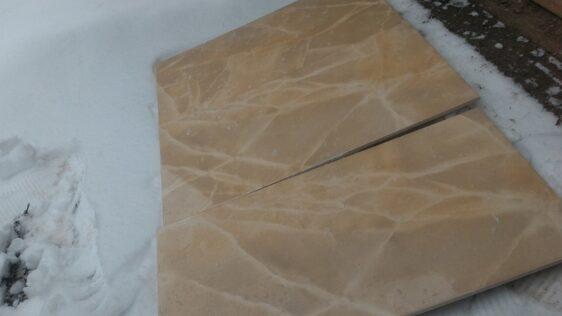 Бежевая плитка в ванную комнату фото
