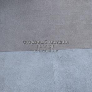 Керамогранит бетон серый