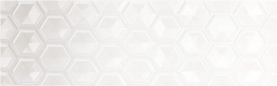 (25х80) OLDEN HEXAGON BLANCO BRILLO